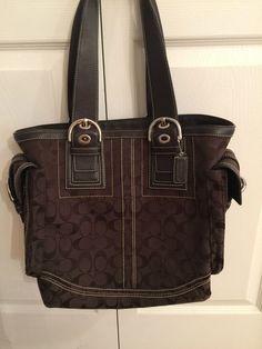 575ebdb60a Coach Brown Monogram Canvas Handbag New  Coach  HANDBAG New Coach Handbags