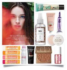 """""""Untitled #190"""" by sixthandsocial on Polyvore featuring beauty, Fresh, Burt's Bees, Crabtree & Evelyn, R+Co, Smashbox, tarte, Benefit and Urban Decay"""