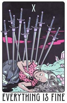 10 of Swords for the modern girl!