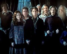 Old picture of the Order of the Phoenix