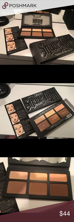 Kat Von D Shade and Light Contour Palette BNIB Brand new in box, 100% authentic Kat Von D Shade and Light Contour Palette hasn't even been swatched or touched in any way. This palette is one of the most popular, most loved high end brand makeup items ever made. I have one personally and it's my favorite!! It's absolutely gorgeous! In Sephora, this retails for $54 plus tax of course. The serial number on the back of the box guarantees authenticity. If you have questions, feel free to ask…
