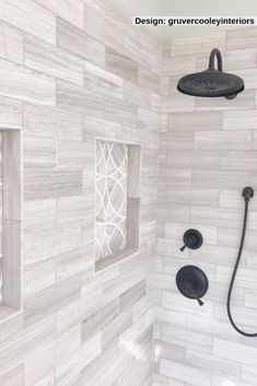 Bathroom shower tile - Crafted with detailed waterjet precision, our new Celtic Series finds ribbons of milky White Thassos combined with Wooden Beige stone to form this eclectic pattern that will cater to a multitude of Master Bathroom Shower, Minimal Bathroom, Bathroom Tile Showers, Tiled Showers, Master Bath Tile, Wooden Tile Bathroom, Marble Tile Shower, Tiled Walls In Bathroom, Accent Tile Bathroom