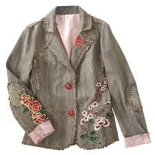 embroidered blazers jackets - Google Search