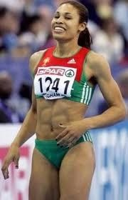 Naide Gomes - Portugal (Finished the all competition ended his career to become a mother).