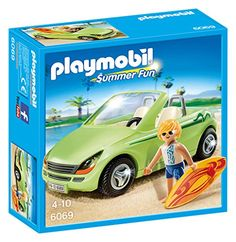 Playmobil 6069 Surfer with Convertible Playset