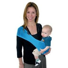 Silver - SUPPORi Baby Sling /  Carrier by LuckyBaby Would definitely get this