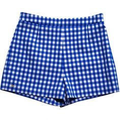 Pre-owned Diane Von Furstenberg Mini-Shorts ($150) ❤ liked on Polyvore featuring shorts, blue, blue short shorts, diane von furstenberg shorts, blue hot pants, hot pants and mini shorts