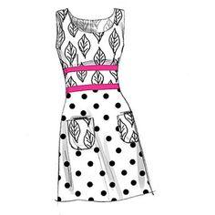 McCall's Misses' Dresses, BB (8, 10, 12, 14)