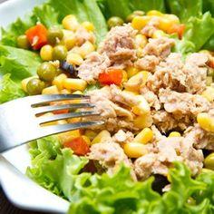 Ensalada de Atún con Verduras