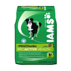 Iams ProActive Health Dry Dog Food Original MiniChunk Formula, 17.5lb... ($17) ❤ liked on Polyvore featuring pets and dog