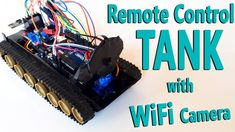Arduino Project 13: Remote Controlled Tank with WiFi Camera (nRF24L+ / R...