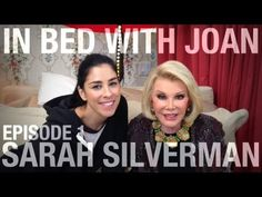 In Bed With Joan - Episode 1: Sarah Silverman | www.eklectica.in #eklectica