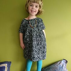 A happy with E wearing a dress I made for her last year. Pattern is from and fabric is Cactus Fabric, Japanese Sewing, May 7th, Sewing For Kids, Fabrics, Summer Dresses, Happy, Instagram Posts, Pattern
