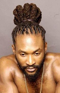 Dreads are born for black men. Whatever hairstyle the black men wear, the dreadlocks and dreads are Dreadlock Hairstyles For Men, New Natural Hairstyles, Dreadlock Styles, Dreads Styles, Natural Hair Styles, Long Hair Styles, Braid Styles, Afro Punk, Loc Styles For Men