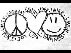 love peace happiness - Google zoeken