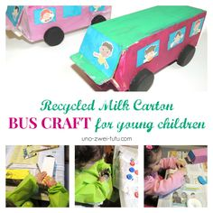 """My little girlloves painting and crafting, I'm pretty sure she could paint all day long, just like me. So when our """"Letter B is for Bus"""" unit wascoming to an end this week I knew it was time for a..."""
