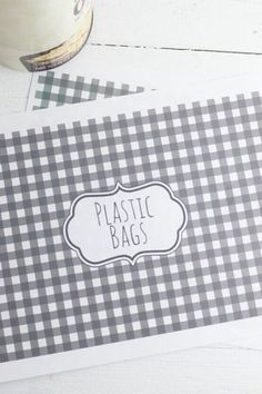 If you're tired of that mountain of plastic bags taking over your life. Check out these 10 ways to organize and store plastic bags. These easy and cheap plastic bag storage containers can be made with items you have around the house like plastic bottles, tissue box and wipes dispensers and more.