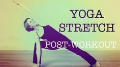 yoga stretch - YouTube