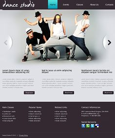 Dance Studio Responsive Drupal Template #blog #website http://www.templatemonster.com/drupal-themes/41585.html?utm_source=pinterest&utm_medium=timeline&utm_campaign=dance