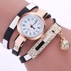Stylové dámské hodinky s náramkem a kvalitním strojkem Quartz – SLEVA 70% A  POŠTOVNÉ ZDARMA b8ddefff37