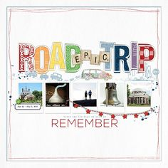 Epic Road Trip Album Cover - Scrapbook.com