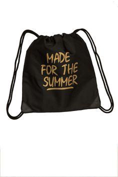 Made For The Summer Altın Varak Baskılı Sırt Çantası Zet.com'da 99.90 TL