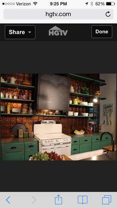 HGTV Hatmaker reno stove