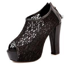 Vouge009 Womens Open Peep Toes High Heel Chunky Platform Soft Material PU Solid Sandals with Zippers, Black, 37 Vogue009 http://www.amazon.com/dp/B00LIIG9M6/ref=cm_sw_r_pi_dp_xunYtb0078JBT72F