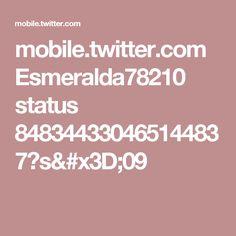 mobile.twitter.com Esmeralda78210 status 848344330465144837?s=09