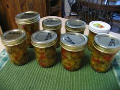 Mommy's Kitchen - Old Fashioned & Country Style Cooking: Squash Relish {It's a Good Thing}