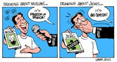 Source, Source http://theredphoenixapl.org/2012/09/26/political-cartoons-cartoon-suggestions-for-charlie-hebdo-wests-double-standard-on-mocking-muslims-jews/