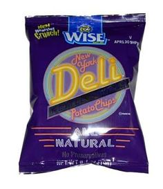 The perfect combination of salty crunchiness, Wise New York Kettle Cooked Potato Chips are just what your sandwich asked for! These are ideal for snacking, any time of day or night. Each 1.25 ounce bag is bursting with flavor! And with just one bite, you'll realize what a wise choice you've made.