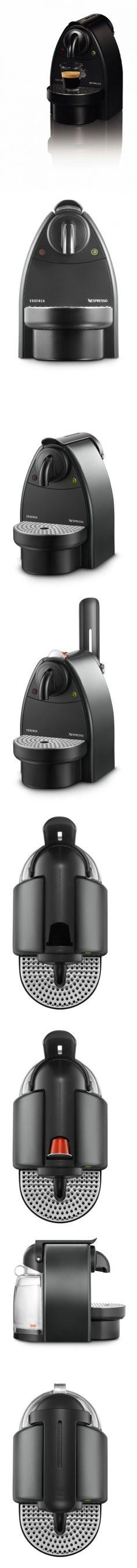 Nespresso D90/S1 Essenza Single-Serve Manual Espresso Machine ...