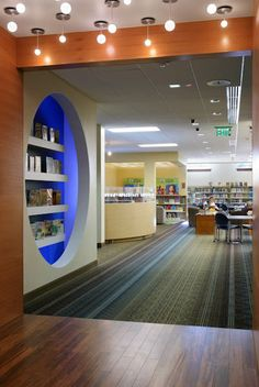 Carnegie Stout Public Library - Entrance to the Children's Area