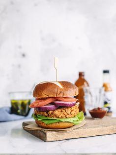 la meilleure galette «pas de boeuf» à hamburger.