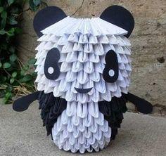 3D Origami - Mini Panda