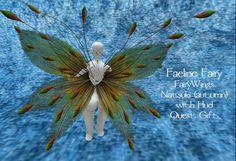 Faeline Fairy ~ Faeline Fairy Wings Natsuki (autumn) Quest Gift Fairy Wings, Dandelion, Autumn, Flowers, Plants, Gifts, Presents, Fairy Wings Costume, Dandelions
