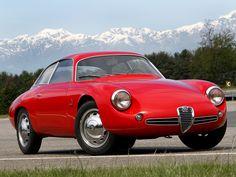 1961 Alfa Romeo Giulietta SZ Sprint Zagato Coda Tronca