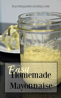 I'm so glad I've found a way to make an easy homemade mayonnaise that's super delicious, and full of quality nutrient-dense ingredients.: