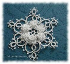 IDEA  25 Motif Challenge: Bookmarks, Leaves, Earrings, Snowflakes, Flower, Bracelet, Angels and Ornaments