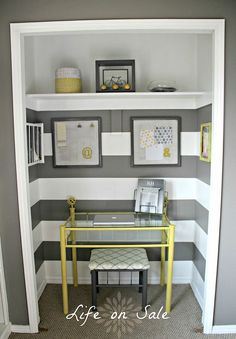 Hometalk :: 18 space saving closet transformations                                                                                                                                                      More