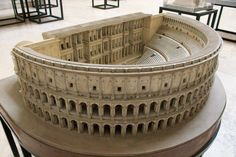 the model of the Theatre of Marcellus