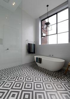 The Block Glasshouse 2014 – Darren and Deanne - Main Bathroom reveal