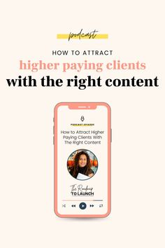 Not all content is created equal. If you want to attract higher paying clients, clients who can pay you $2,000 and higher per month, you need to create the right message. And this is especially true on social media. Listen to this episode learn how to create the right type of content for higher paying clients. Content Marketing Strategy, Email Marketing, Internet Marketing, Social Media Marketing, Sales Strategy, Digital Marketing, Home Based Business, Business Tips, Online Business