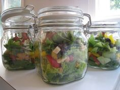 Salad in a jar by Moments of Delight...Anne Reeves: July 2009