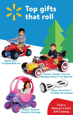 Keep the action going with their favorites from the screen in our Kids Gift Catalog.