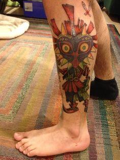 "Done at Little Dan's Olde Tyme Tattoo in Bayport, New York, by Joy ""Gordie."