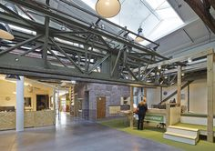 Hollandse Nieuwe - Greenpeace office Amsterdam NDSM Netherlands sustainable interior design