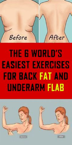 d4b8a02d3e3a1 Try The 6 World s Easiest Exercises to Lose Back Fat and Underarm Flab Reduce  Back Fat