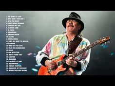 Carlos Santana Greatest hits full album | Best songs of Carlos Santana - YouTube